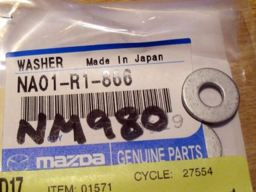 Hardtop rear deck lock plate washer, MX-5, NA01R1866